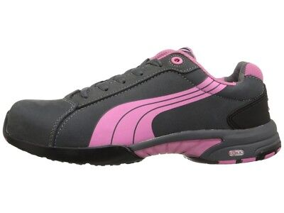 AU99.99 • Buy Puma Safety Women's Balance Grey/Pink Steel Toe Cap Shoes 642865--SPECIAL
