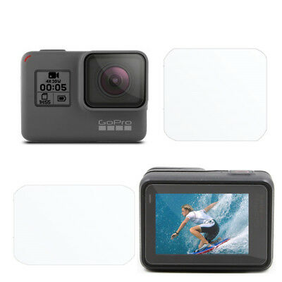 $ CDN1.14 • Buy For Gopro Hero 5 Black Camera Accessories Lens&Screen Protector Protective Film
