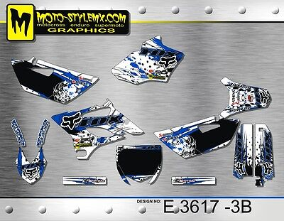 AU159.90 • Buy Yamaha YZ 85 2015 Up To 2018 Graphics Decals Kit Moto StyleMX
