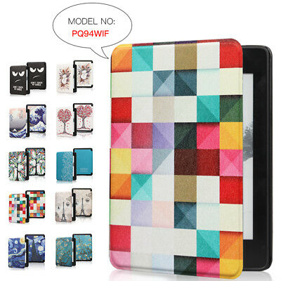 For Amazon 2018 Kindle Paperwhite4 10th Painted Leather Flip Magnetic Case Cover • 6.29£