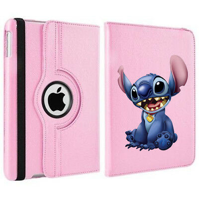 £18 • Buy Stitch Disney's Lilo 360 Rotating Case Cover Stand For Apple IPad