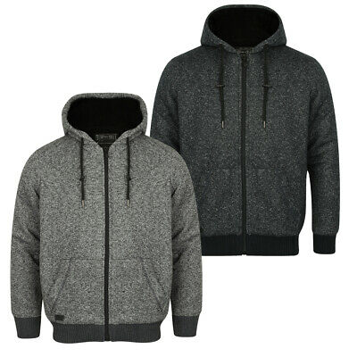 c6bc65640c40b Mens Hoodie Designer Faux Fur Borg Lined Zip Hooded Jacket Rammer By  Dissident • 31.21€