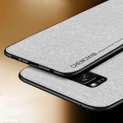$ CDN5 • Buy For Samsung Galaxy S8 S9 S10 Plus Magnetic Shockproof Soft TPU Fabric Case Cover