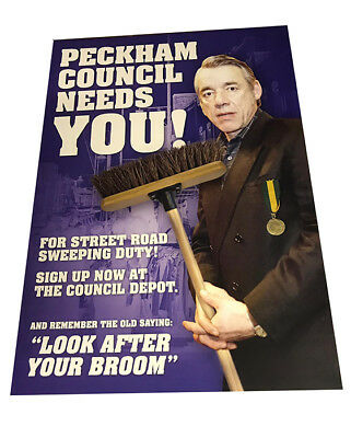 Only Fools And Horses Trigger Peckham Council Glossy Advertising Poster A3 • 5.99£