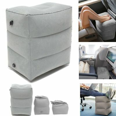 AU23.99 • Buy Inflatable Foot Rest Travel Air Pillow Portable Cushion Home Leg Footrest Relax