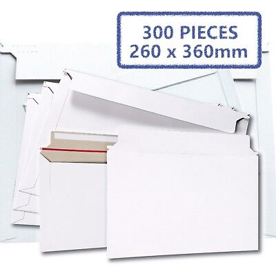 AU81.02 • Buy 300x Card Mailer B4 260x360mm 300gsm Business Envelope - Tough Bag Replacements