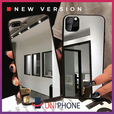 AU9.95 • Buy 【Mirror】iPhone 12 11 XS Max Pro XR 8 7 Plus Mirror Case Hybrid Glass Slim Cover