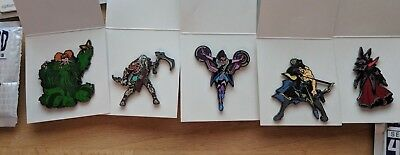 AU40 • Buy Blizzcon Blizzard Series 4 Starcraft Diablo Overwatch Hearthstone Set Of 5 Pins!