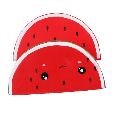 AU4.71 • Buy Super Big Jumbo Squishies Slow Rising Watermelon Squeeze Stress For Kids Toys