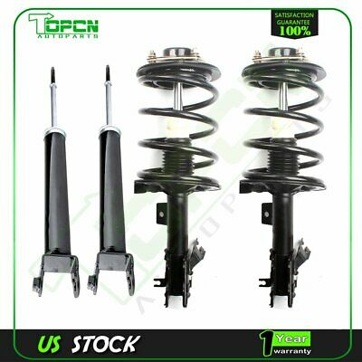 $177.39 • Buy Fits 2004-2008 Nissan Maxima Front Struts Springs And Rear Shocks Absorbers Set