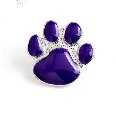 Animals In War Purple Dogs Paw Enamel Lapel Badge Brooch Poppy Day Brand New • 3.99£