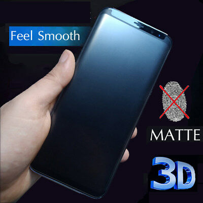 $ CDN5.26 • Buy 3D Matte Tempered Glass For Samsung Galaxy S8 S9 Plus Note 8 9 Screen Protector