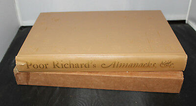 $ CDN68.93 • Buy POOR RICHARD'S ALMANACS Norman Rockwell 1964 W/slipcase USA English