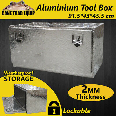 AU209.95 • Buy Tool Box Aluminium Tool Storage Large W Lock UTE Trailer Truck Heavy Duty Vehicl