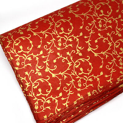 £3.25 • Buy Lokta Wrapping Paper, Luxury Hand Made Gift Wrapping, Fair Trade Floral Prints