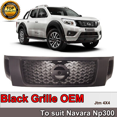 AU189 • Buy Matt Black NISMO Style Grill Grille To Suit Nissan Navara NP300 D23 2015- 2020