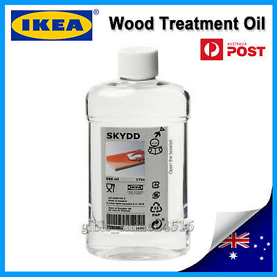 AU19 • Buy IKEA SKYDD Wood Treatment Oil Kitchen Wooden Chopping Board Food Mineral Indoor