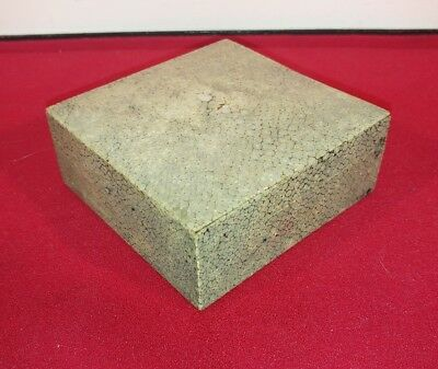 ATTRACTIVE EARLY 20thC ART DECO GREY/GREEN SHAGREEN TRINKET BOX • 135£