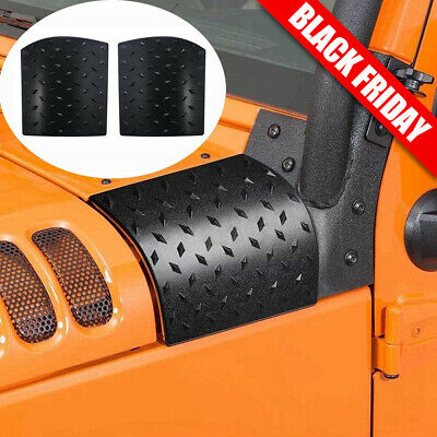 $12.99 • Buy Cowl Body Armor Cover Fit Jeep Wrangler Rubicon Sahara JK & Unlimited 07-17 Pair