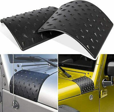 $11.65 • Buy Cowl Body Armor Cover Fit Jeep Wrangler Rubicon Sahara JK & Unlimited 07-17 Pair