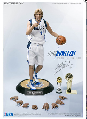 $450 • Buy Enterbay Dirk Nowitzki 1/6th Scale Real Masterpiece - USA Seller -Safe