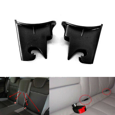 $ CDN1.51 • Buy 2x ABS Plastic Car Baby Seat ISOFIX Latch Belt Connector Guide Groove Black