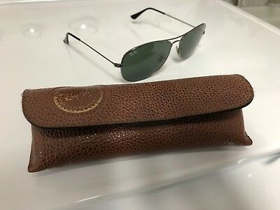 0b6c753fbe Ray-Ban - Men s Sunglasses W  Vintage Ray-Ban Leather Case • 49.99