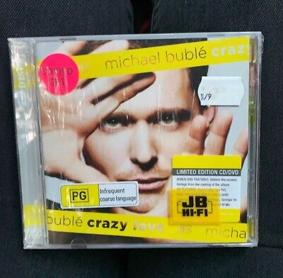 AU29.40 • Buy Bnip Sealed Limited Edition Cd / Dvd Set Michael Buble  Crazy Love Unwanted Gift