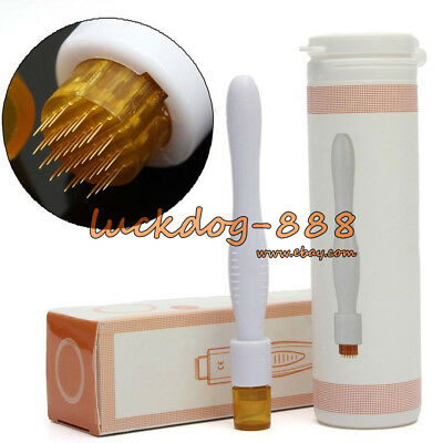 AU8.51 • Buy DRS 40 Derma Stamp Roller Pen Micro Needle Skin Therapy Acne Scars Anti Aging