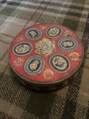 Fabulous Vintage Jacobs Musical Composers Biscuit Tin • 14.99£