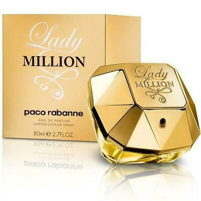 Paco Rabanne Lady Million  80ml Authentic EDP Spray Brand New • 43.85£