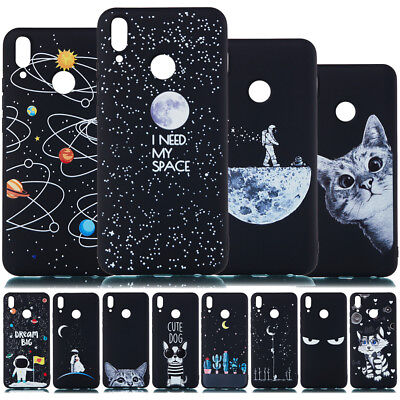 AU5.31 • Buy For Huawei Y5 Y6 Y7 Prime Y9 2018 2019 Painted Slim Soft Silicone TPU Case Cover