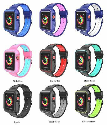 AU20.38 • Buy Apple Watch Soft Silicone Sport Strap Loop Replacement Band Series 4 3 2 1 Nike+