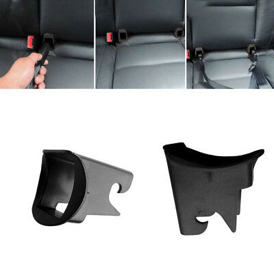 $ CDN1.51 • Buy 2x Plastic Car Baby Seat ISOFIX Latch Belt Connector Guide Groove Black Adapter