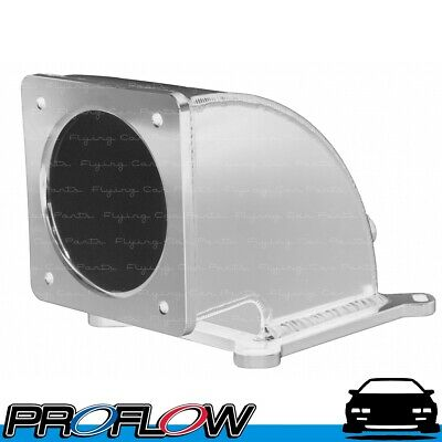 AU215.39 • Buy PROFLOW Fabricated Elbow 100mm Throttle Body To 4150/4500 Square Bore Silver