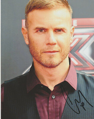 Gary Barlow  Signed Autographed Take That 8 X10 Photo + Proof COA • 45£