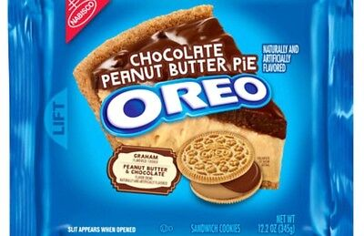 Nabisco OREO Chocolate Peanut Butter Pie Sandwich Cookie LIMITED EDITION • 5.11£