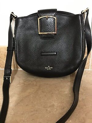 $ CDN119.99 • Buy New Kate Spade Black HEALY LANE LILLITH Leather Crossbody Handbag MSRP$249