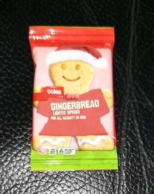 $2.78 • Buy Coles Little Shop Mini Christmas Collectables **Gingerbread Man**