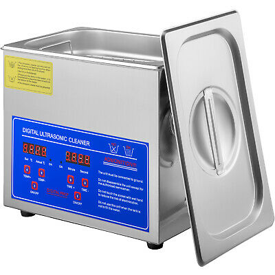AU101.84 • Buy Ultrasonic Cleaner 3L Liter Stainless Steel Industry Heated Heater W/Timer
