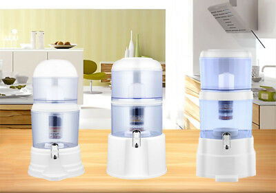 AU49.95 • Buy Water Filter Ceramic Carbon Mineral Bench-top Dispenser Purifier - 8 Stages