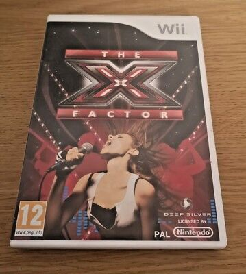 The X Factor Nintendo Wii Video Game Complete FREE P&P • 3.49£