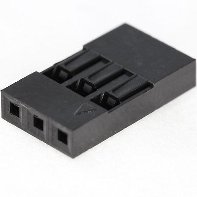 $4.99 • Buy [25x] Dupont  Wire Jumper Pin Header Connector Housing - 1x3 - Male / Female