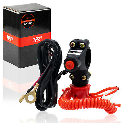 AU18.24 • Buy Boat Motor Kill Stop Switch 12V Safety Tether Lanyard Cord For Yamaha Outboard