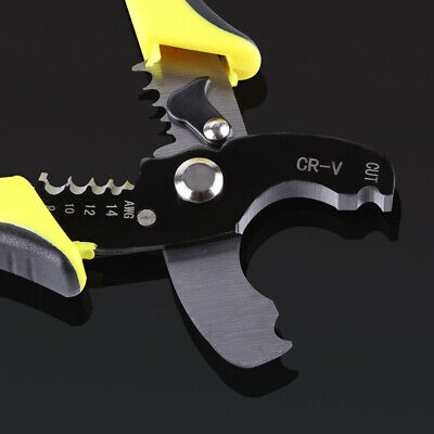 £5.59 • Buy Automatic Cable Wire Stripper Crimper Crimping Tool Adjustable Plier Cutter