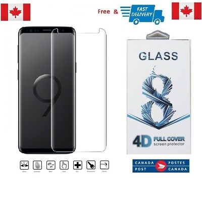 $ CDN6.96 • Buy Curved Samsung Galaxy S9+ PLUS High Quality 3D Tempered Glass Screen Protector