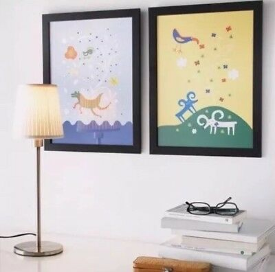 AU19.90 • Buy IKEA Limited Edition BLACK 30cm X 40cm ~ A3 Picture Frame Photo Frame BRAND NEW