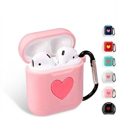 $ CDN5.49 • Buy 1pc Earphone Case For Apple Airpods Strap Silicone Headphone Case Protective
