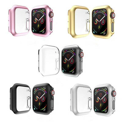 $ CDN8.03 • Buy For Apple Watch Series 4 5 IWatch 40mm/44mm PC Full Protective Bumper Case Cover