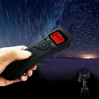 Intervalometer Wireless Timer Remote Control Shutter Release For Canon 550D 650D • 22.69£